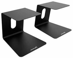 Audibax Neo STM-50 Support de bureau pour moniteur et haut-parleur (paire)