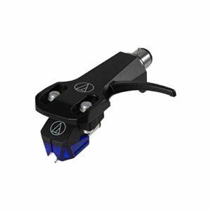Audio-Technica AT-XP3/H Cellule Stéréo à Double Aimants Mobile avec Porte-Cellule DJ