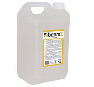 BeamZ FHF5O Liquide pour Machine à Brouillard Haze 5L – Base Huile, Haute Performance, incolore, inodore et Non Inflammable, Dispersion Lente, Made in Europe