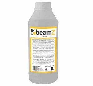 BeamZ Liquide pour Machine à Brouillard Haze 1L – Base Huile, Haute Performance, incolore, inodore et Non Inflammable, Dispersion Lente, Made in Europe