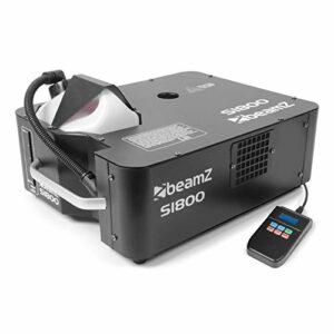 Beamz S1800 DMX Machine à brouillard 1800W 600 m ³/min