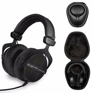 Beyerdynamic DT 990 PRO Écouteurs intra-auriculaires 250 OHM Limited Edition – Black w/ Case