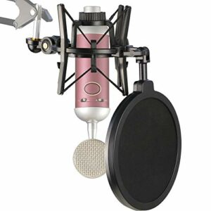 BlueSpark Suspension Antichoc Professionnelle avec Filtre anti-pop pour Réduire le Bruit de Vibration du Microphone, Support Antichoc du Micro à Condensateur BlueSpark par YOUSHARES