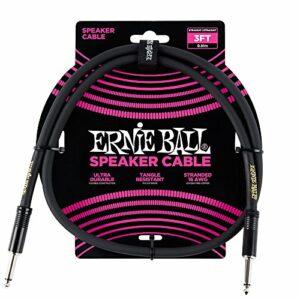 Câble d'enceinte droit / droit Ernie Ball 3 '