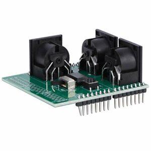 Carte d'adaptateur MIDI standard PCB Matériau RUN/PGM Switch Outil de test haute précision pour usine pour l'industrie