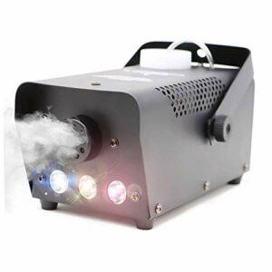 CHENJIA Télécommande de Machine à brouillards de 500 Watts sans Fil avec Machine à fumée Portable for Machine de fumée de Mariage d'anniversaire de fête à la Maison