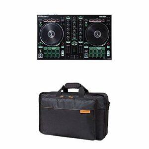 Contrôleur DJ-202 Roland avec housse de transport