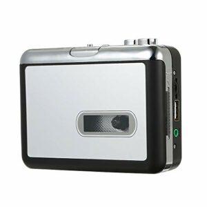 Convertisseur Cassette vers MP3 convertisseur Cassette vers Lecteur de Musique numérique enregistreur Audio Convertible en MP3 en clé USB avec câble USB