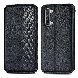 Coque pour Oppo Find X2 Lite Antichoc étui Rabat Cuir Case Portefeuille TPU Gel Bumper Silicone Wallet Cover Aimant Housse pour Oppo Find X2 Lite 5G – ZISD080576 Noir