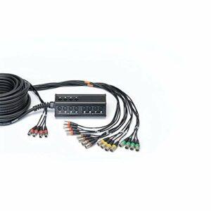 CORDIAL Boîtier de scène 16 entrées 4 sorties XLR câble 30 m