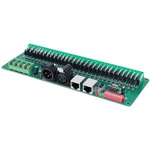 Décodeur de tension constante Décodeur DMX 5-24V DC entrée DC5V, DC24V 256 niveaux de contrôle 1~30 canaux de sortie pour équipement de contrôle DMX512