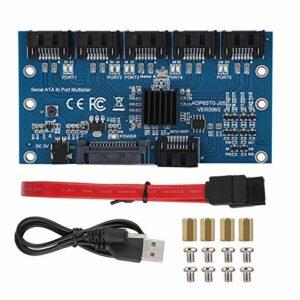 Denkerm Adaptateur, convertisseur 6 Ports à Prise en Charge Durable, pour WIN7 WINXP