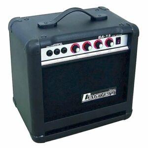 Dimavery 059387 BA-15 Amplificateur basse 15 W Noir