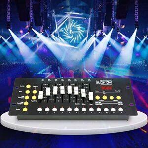 Dimmen DMX 512 Console Contrôleur de Scène 192 Canaux DJ Équipement Éclairage Luminaire Intégré Portable pour DJ Show Pub Club KTV Bar 2048 KB Blitz