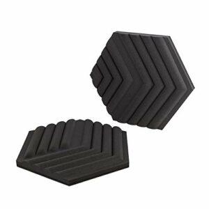 Elgato Wave Panels, 6 Panneaux de Traitement Acoustique, Mousse Double Densité, Système Exclusif de Cadres EasyClick, Format Modulable, Montage et Démontage Faciles