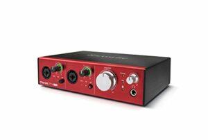 Focusrite – Interface Audio Numérique Clarett Pre USB 10 Clarett 2Pre USB