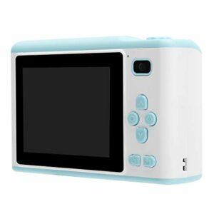FOLOSAFENAR Appareil Photo numérique Portable Mini Taille avec Une Sangle à bandoulière Écran 2,8 Pouces Appareil Photo IPS HD Affichage Simple opération de Prise de Vue(Blue)