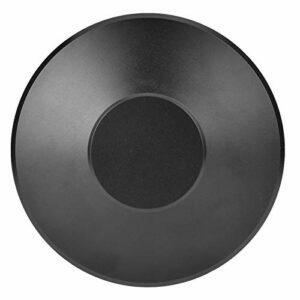 Haowecib Stabilisateur de Plateau tournant, stabilisateur de Poids d'enregistrement Noir, pour Haut-parleurs Châssis de Platine Tourne-Disque Lecteur CD