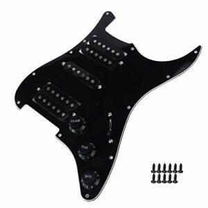 Humbucker Pickguard utile pour les guitaristes pour guitariste(black)