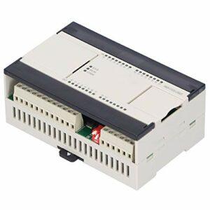 Jeanoko Contrôleur Industriel PLC FX3U-26MT 100% Tout Neuf Durable Pratique 16 entrées 10 Sorties contrôleur Programmable Stable pour la Surveillance
