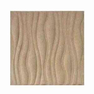 LOPKIH Panneaux De Mousse Acoustique Panneau D'absorption De L'absorption De L'absorption De Fibres De Polyester De 10 Pcs 3D,9