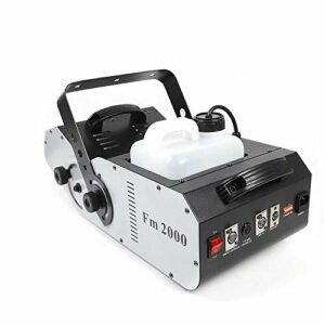 Machine à fumée avec télécommande – Angle de pulvérisation à 180° – Effet d'éclairage de scène – 1500 W DMX