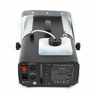 Machine à fumée RGB, LED 8 x 3 W, machine à fumée avec télécommande, Dj Party