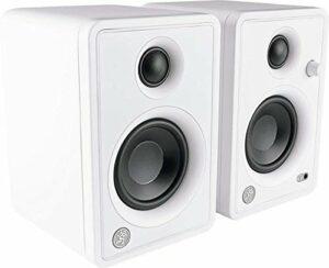 Mackie Enceintes de monitoring CR Actif 50W 3″ Bluetooth (La paire) – Edition limitée blanche