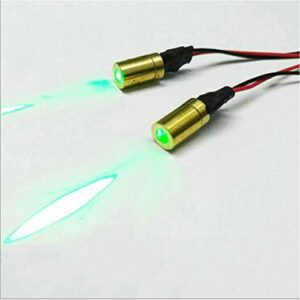 Module laser de point de positionnement vert 6mm de la classe Ⅱ 520nm vert