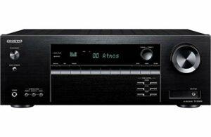 Onkyo TX-SR494 Récepteur AV avec 4K Ultra HD | Dolby Atmos | DTS: X | Hi-Res Audio (modèle 2019)