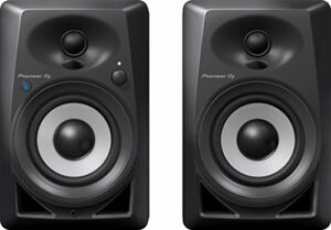 Pioneer DJ DM-40BT Moniteurs de studio Bluetooth, noir