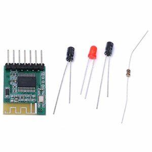 SALUTUYA LED indique l'amplificateur de récepteur Audio Module de réception Audio Compatible Bluetooth pour Haut-Parleur Actif pour la Version Bluetooth V4.0(5V)
