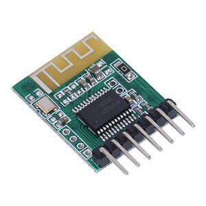 SALUTUYA Module de Bricolage Durable Module de réception Audio amplificateur de récepteur Audio pour Version Bluetooth V4.0 pour Haut-Parleur Actif(3.3V)