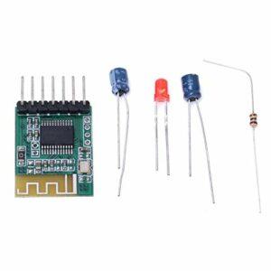 SALUTUYA Module de réception Audio de Module de Bricolage d'amplificateur stéréo sans Fil fiable pour Haut-Parleur Actif pour la Version Bluetooth V4.0(3.3V)