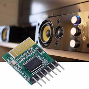 SALUTUYA Module de réception Audio de Module de Bricolage d'amplificateur stéréo sans Fil fiable pour Haut-Parleur Actif pour la Version Bluetooth V4.0(5V)