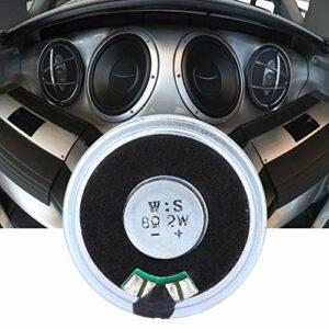 Shipenophy 10 pièces interphone NdFeB Aimant Voiture Haut-Parleur Ultra Mince 40mm 8Ω 2W avec Sortie Pression sonore 90 ± 3dB pour la Maison pour Le Bureau