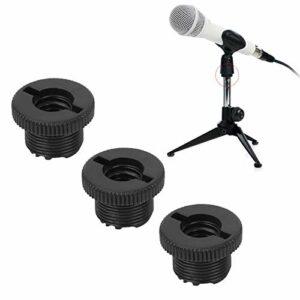 Shipenophy Adaptateur de Filetage de Microphone Portable pour vis de Microphone
