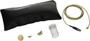 Shure Série Wl93 Microphone Cravate à Condensateur, le Wl93 – 6T Est Couleur Chair avec Un Câble de 1,9M (6Pieds) et Un Connecteur Ta4F (Tqg) pour Systèmes sans Fil Shure