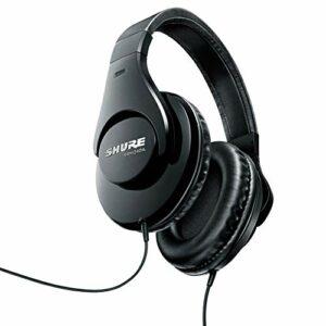 Shure Srh240A Casque Audio Professionnel de Qualité Jack 40Mm 2 M, Noir