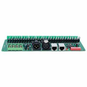 Signal de commande analogique du décodeur de tension constante Entrée CC DC5V ~ DC24V Décodeur DMX Sortie de gradation 0 à 100% 256 niveaux de commande pour l'équipement de commande DMX512