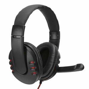 Socobeta Casque filaire sur l'oreille confortable et durable pour le jeu