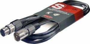 Stagg sMC6 câble de micro xLR vers xLR de 6 m