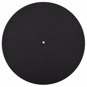 Tuneway 1 Pc Ultra-fin Anti-Statique Lp Vinyl Platine Tourne-disque pour Fonographes Plat Soft Mat Record Slipmat Mat Pad