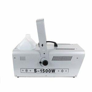 WANGIRL Machine à Effet de scène 1500W Machine à Neige Artificielle Effet Flocons de Neige Très Réaliste Télécommande sans Fil Contrôleur Idéale pour de Noël Halloween Animations 51,5 * 22,5 * 22,5cm