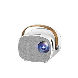 YANGXIAOYU Version Maison Projecteur Nouveau Téléphone Portable Mini Projecteur sans Fil Maison HD 1080P Mini Projecteur Enfant Portable