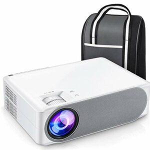 YWSZJ Projecteur Full HD 630/630 W, écran de synchronisation WiFi de cinéma Maison 1080P Portable pour Petit Bureau à Domicile (Color : Ordinary Paragraph)