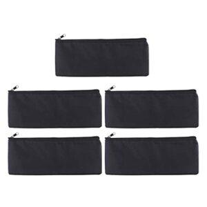 5 X sac de protection universel pour sac de microphone, étui pour sac de microphone pour micro, noir,