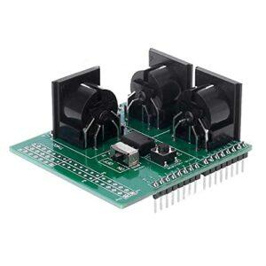 Auoeer MIDI Bouclier Musical Breakout Instrument Instrument Plaque d'interface numérique pour Module de Carte Compatible