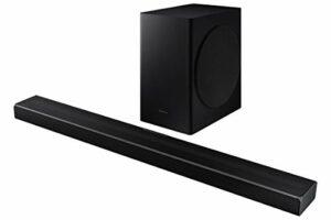 Barre de Son SAMSUNG HW-Q60T – Son 360W, 5.1Ch, Subwoofer sans Fil, Dolby Digital 5.1, DTS Virtual:X, Q-Symphony et Technologie Acoustic Beam