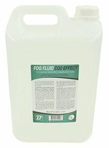 BoomTone DJ Fog Fluid C02 Bidon de liquide fumée 5 L Blanc